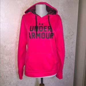 Under Armour Med Pink Hoodie